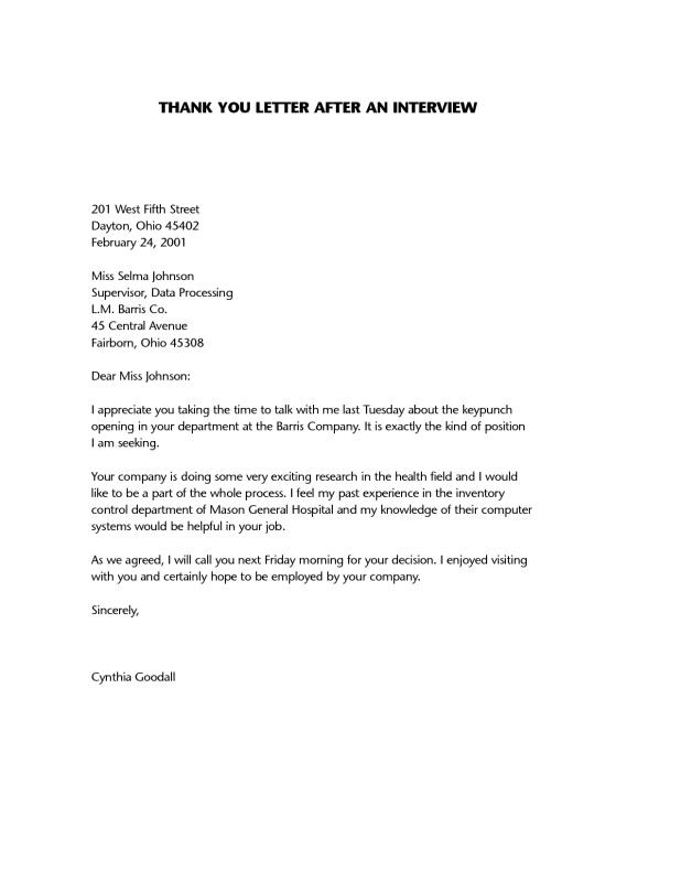 Second Follow Up Email After Interview Sample Template Business