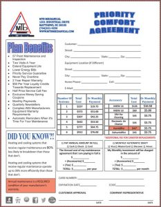 service agreement samples pca
