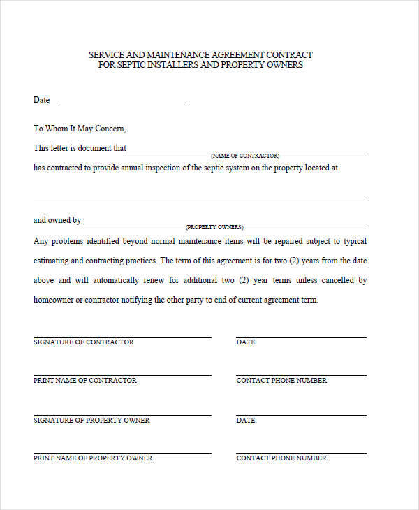Service Agreement Template  Template Business