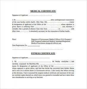 service dog certificate pdf medical fitness certificate
