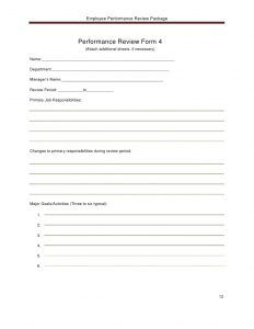 service receipt template employee performance reviewpackage