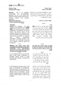 settlement agreement form page px employee non disclosure agreements uae pdf