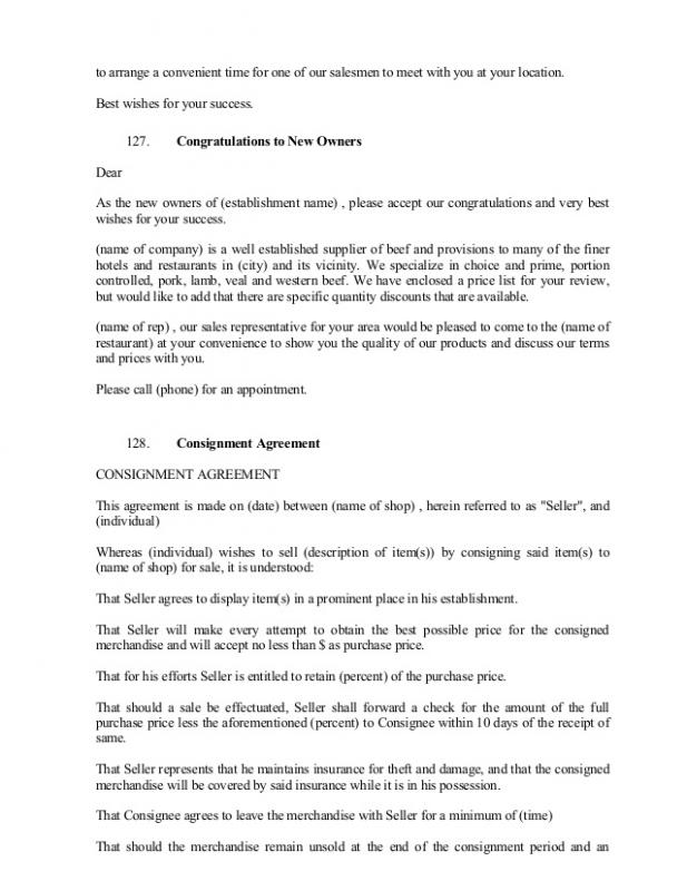 Settlement Agreement Sample  Template Business