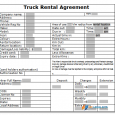 settlement agreement template truck rental sample