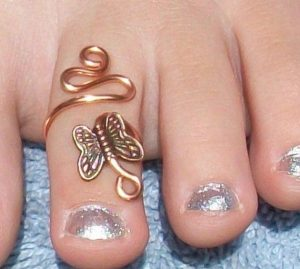 sexy nail designs toe rings