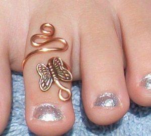sexy nail designs toe rings