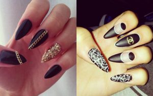 sexy nail designs unhas stiletto