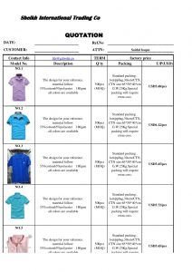 shirt order form template polo t shirt quotation