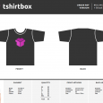shirt order form template screen shot at