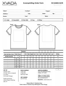 shirt order forms t shirt order form template eyazxa