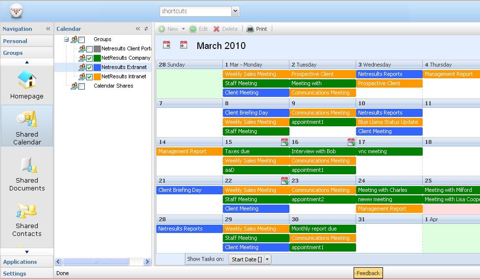 shoot schedule template