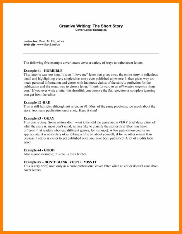 creative ways of writing a cover letter Creative writing with edmodo writing: fun with formal letter writing: link opens in new window onestopenglish is a teacher resource site.