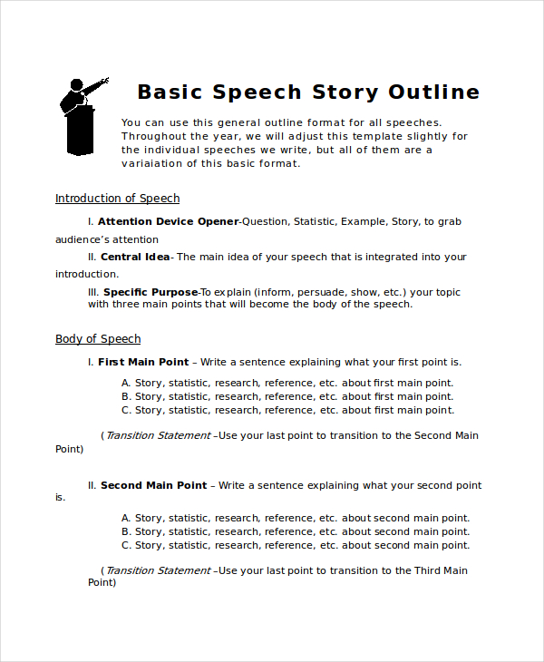 short story outline