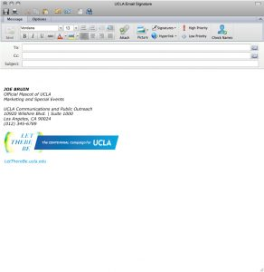 signature for email ucla digital email signature example