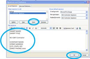 signatures for email emailsignature step