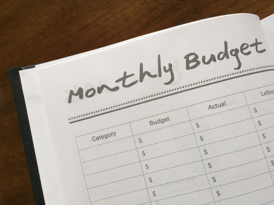 simple budget planner
