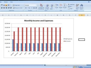 simple budget spreadsheet budget chart template personal expense tracker spreadsheet c