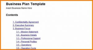 simple business plan example simple business plan template tow truck receipt with simple business plan template