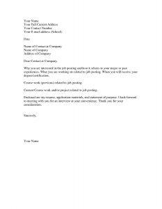 simple cover letter format basic cover letter for a resume jantarajcom basic resume cover in basic cover letter sample