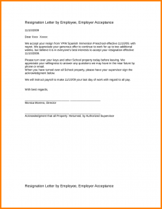 simple employment agreement employee no longer with company letter sample resignation letter sample