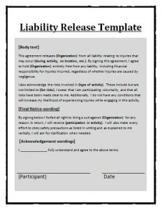 simple employment agreement liability form template