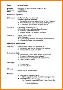 simple employment agreement simple cv example