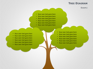 simple family tree template tree diagrams powerpoint slide