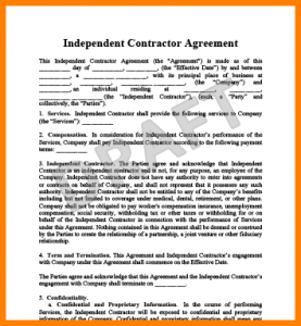 simple independent contractor agreement simple independent contractor agreement independent contractor agreement