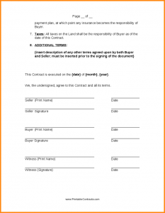 simple land purchase agreement form land sale contract land sale contract