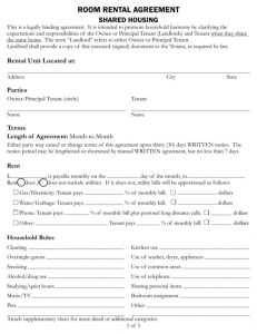 simple loan agreement pdf room rental agreement shared housing