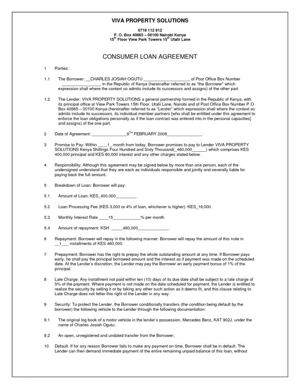 Simple Payment Agreement Template] Simple Payment Agreement Template ...