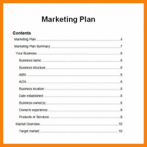 simple marketing plan simple marketing plan template marketing plan template