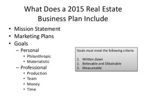 simple marketing plan template why real estate agents need business plans