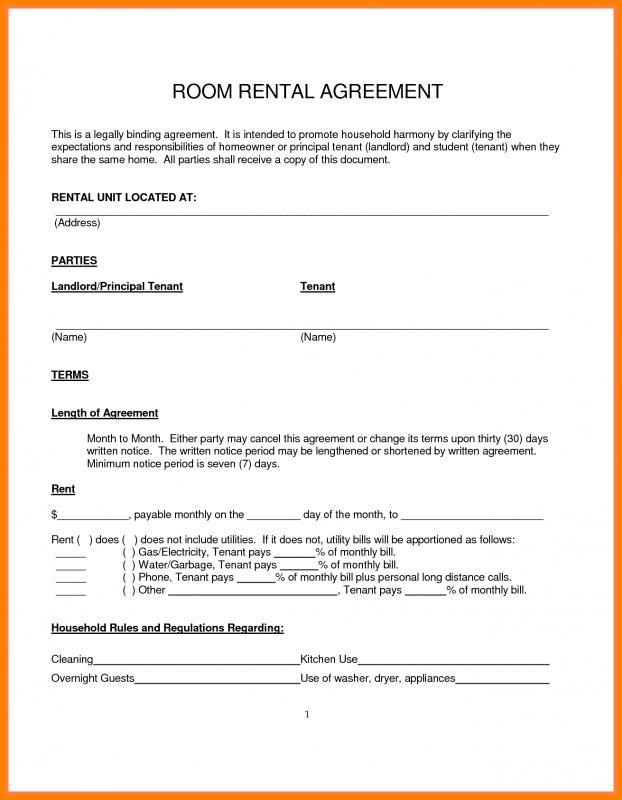 Lease Agreement Template Template Residential Lease