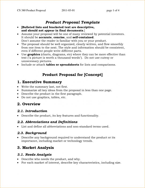 simple one page business plan template template business