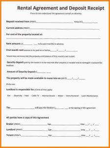simple blank rental agreement
