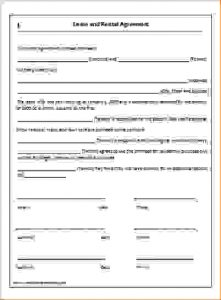 simple one page lease agreement simple one page lease agreement
