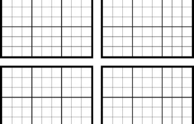 simple one page rental agreement sudoku blank
