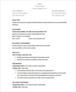 simple resume examples simple resume template cv