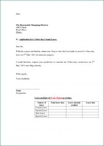 simple sample cover letter for job application leave format