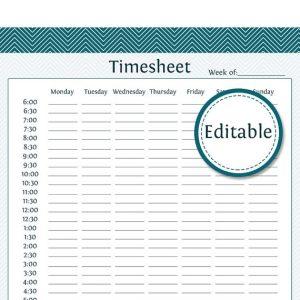 simple timesheet template il xn aarc
