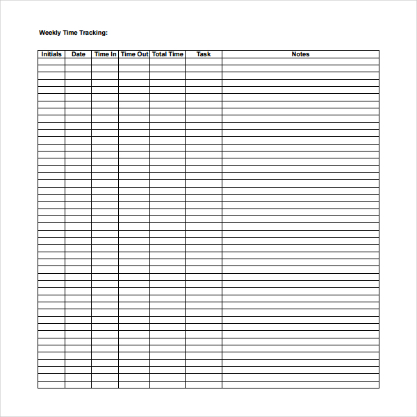 simple timesheet template