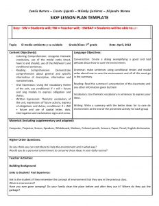 siop lesson plan siop unit lesson plan template sei model