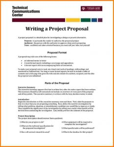 small business plan outline format of simple project proposal ccefcecdafb