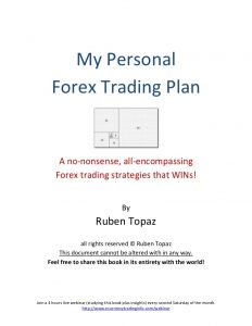 small business plan outline my personal forex trading plan