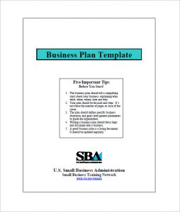 Small Business Plan Template Small Business Plan Sample