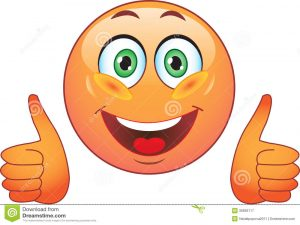 smiley face icon smile joy all right stock image smiley