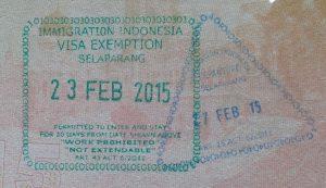 social media business card px lombok international airport stamp