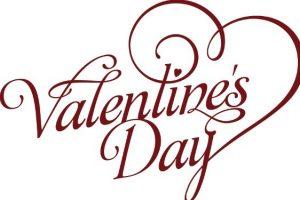 social media business card valentines day font art