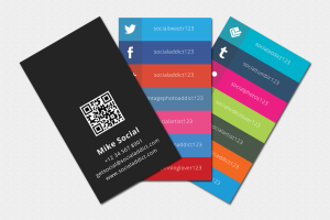 social media cards social presentation o